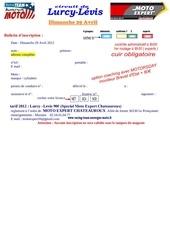 bulletin d inscription lurcy 29 avril