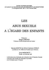 les abus sexuels a l egard des enfants
