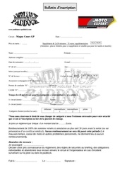 bulletin magny cours gp moto expert chateauroux
