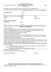 contrat de saillie sir 2012