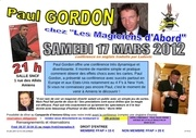 flyer paul gordon