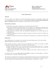 Fichier PDF mathematica projet