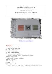 Fichier PDF mini bonheur simple en romarin