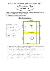 reglement football a 7