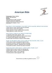 american ride bscr