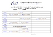 emplois examen 1er semestre 2011 2012 1