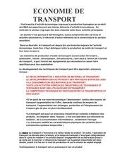 Fichier PDF transport