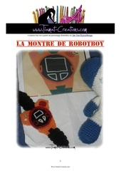 la montre de robotboy