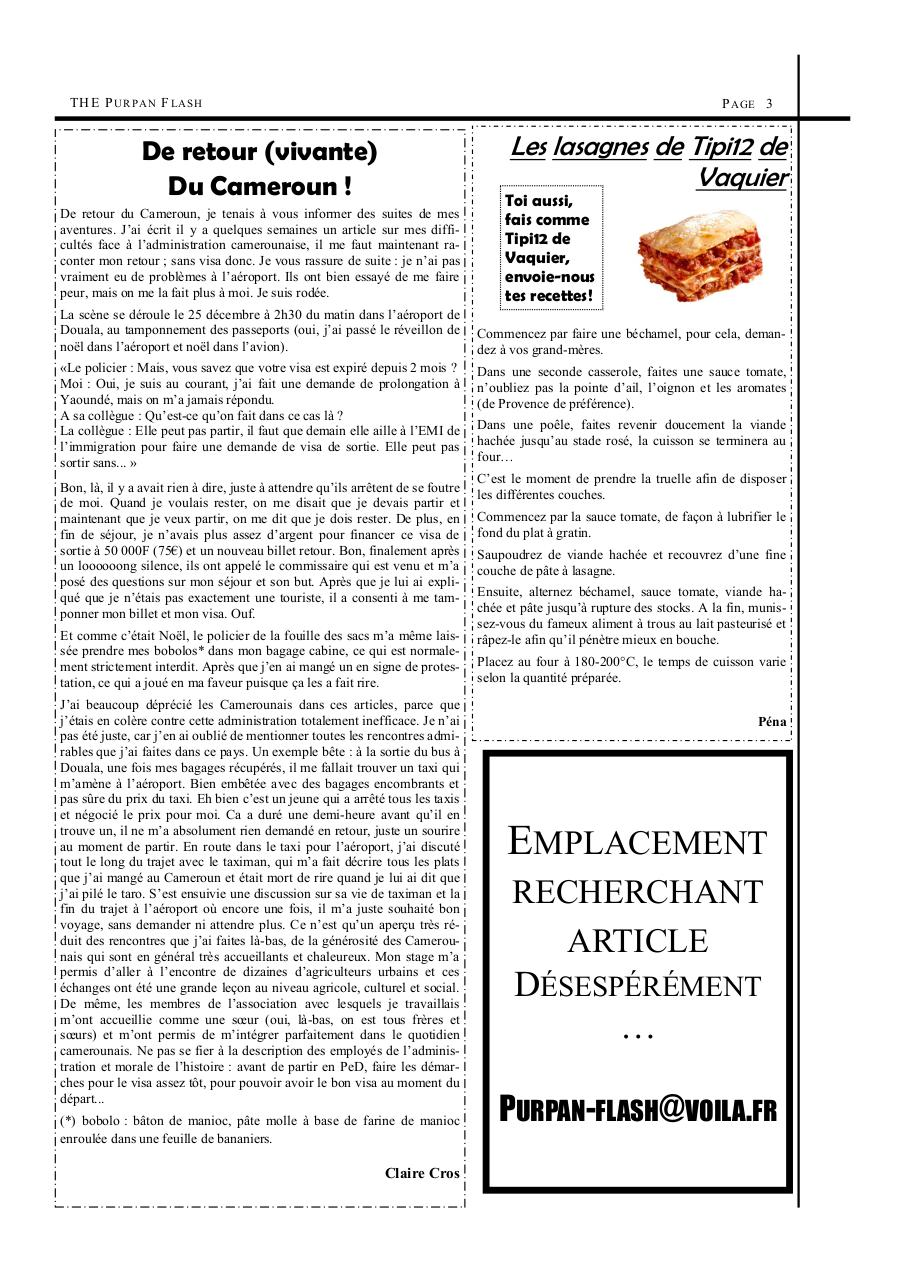 Aperçu du document Purpan Flash de début Janvier.pdf - page 3/6