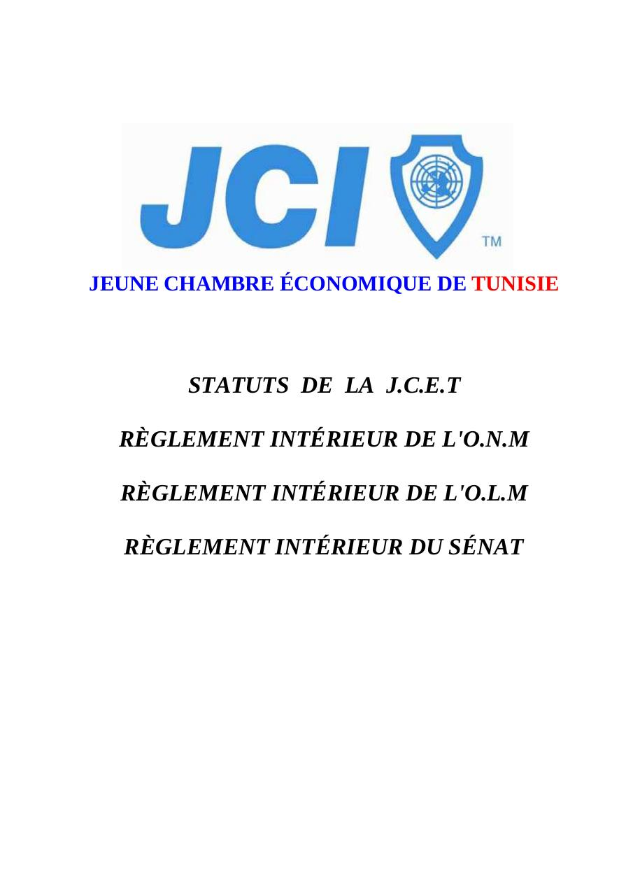 Aperçu du document STATUTS_JCI_Tunisie_2011 DEFINITIF OK.pdf - page 1/56