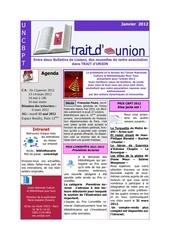trait d unionjanvier2012