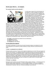 2012 01 14 ecrire pour etre lu