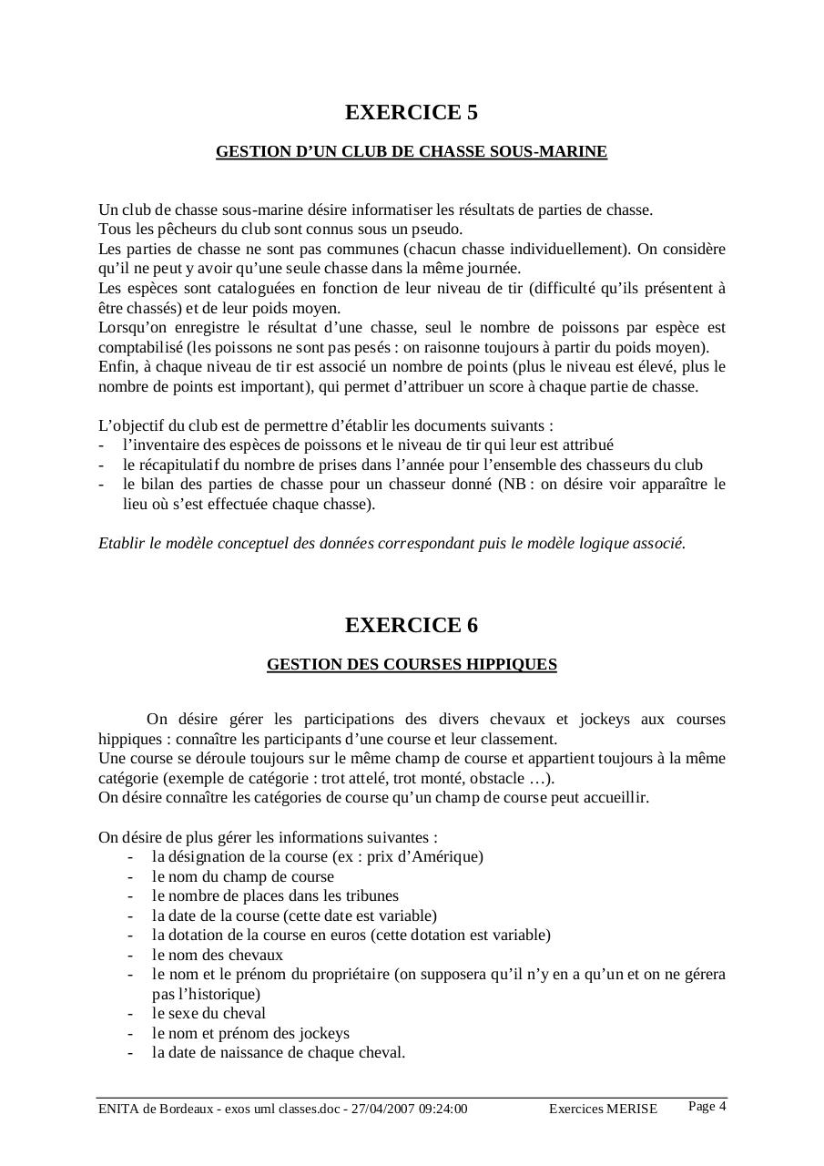 Corrigés des 9 exrcices de diagramme de classes.pdf - page 4/37