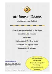 Fichier PDF flyers at home