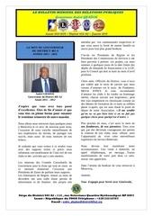 le bulletin du gouverneur janvier 2012