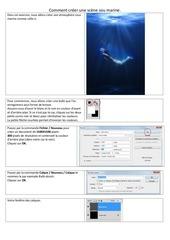 Fichier PDF scene sous les mers