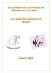 biblionews ad n 3 01 2012