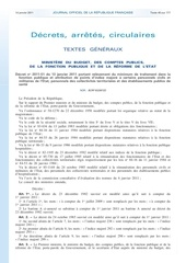 Fichier PDF correspondance indice brut et indice majore