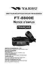 manuel ft 8800e