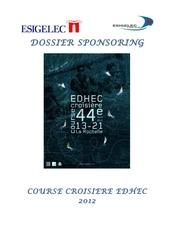 dossier sponsor edhec 2012 esigelec 1