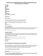 edmonton shabbaton registration 2012