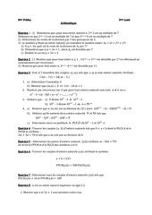 arithmetique 3eme 1