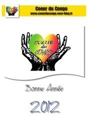 calendrier coeur du congo 2012