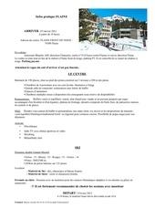 Fichier PDF information partique