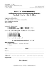 bulletin reservation soiree 23 01 12