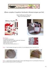 Fichier PDF tuto album scrapdeco coquelicot par sofy