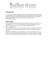 Fichier PDF moniteur reseau