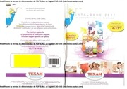 Fichier PDF produits texam 1
