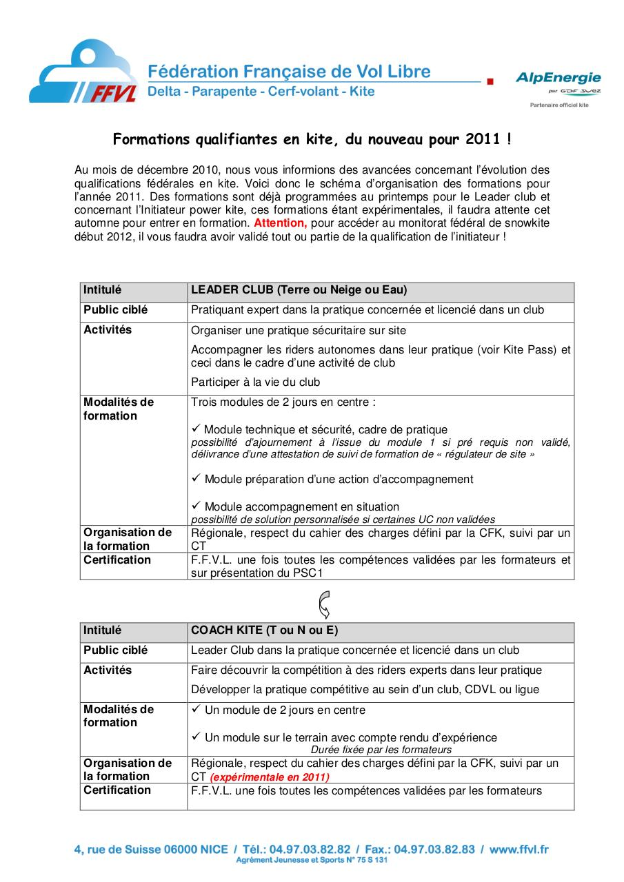 Aperçu du document 2011 - Formations Kite.pdf - page 1/2