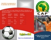 calendrier programme match can2012