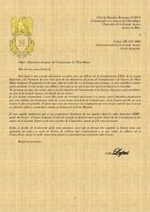 lettre a blancard 2 commissariat demission