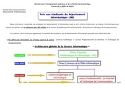 Fichier PDF note aux etudiants informatique lmd