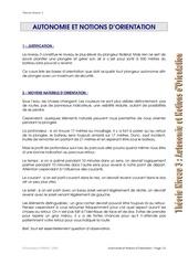 w02 autonomie et orientation