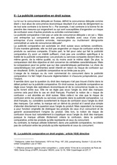 la publicite comparative en droit suisse