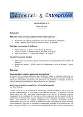 newsletter janvier 2012
