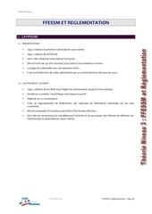 w15b reglementation ffessm