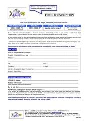 form 011 fiche d inscription 1