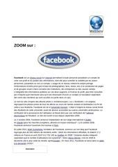 Fichier PDF tout sur facebook et les reseaux sociaux