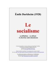 durkheim le socialisme 4
