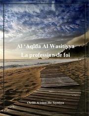 la profession de foi al aqida al wasitiyya