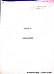 Fichier PDF les recompenses