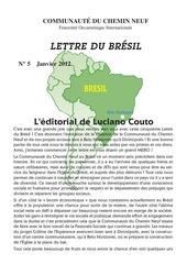 lettre du bresil n 5