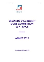 agrement compets sup race 2012