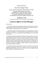 kh639 fr la foi en allah et en son messager