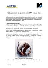 Fichier PDF notice soudage pvc