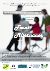 affiche focus alternance 2012
